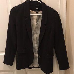 H&M blazer, size 4, chestnut brown